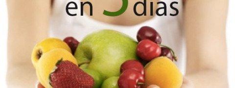 Dieta detox en 5 días