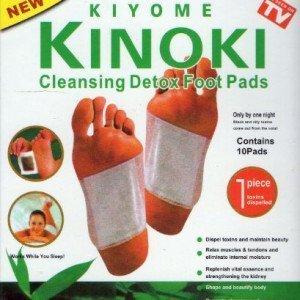 Detox Kinoki - Almohadillas purificantes para pies (10 unidades)
