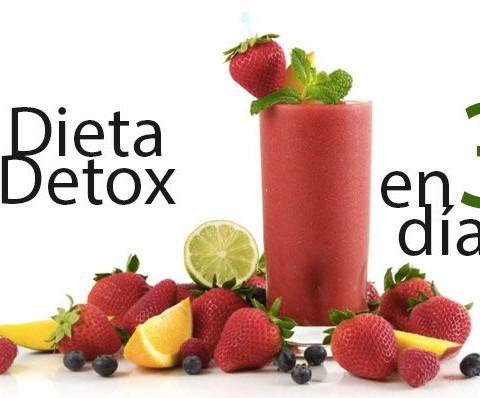 Dieta Detox en 3 días